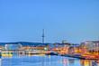 Leinwanddruck Bild - Kieler Hafen