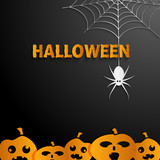 Halloween black  background