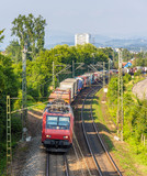 Swiss freight train in Germany