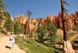 Leinwandbild Motiv Hiking Bryce Canyon USA
