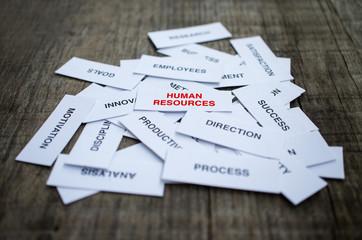 Human Resources Concept