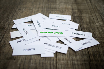 Healthy Living Concept