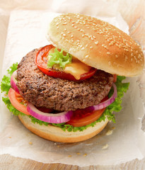 Burger pure beef