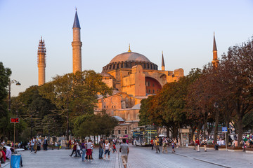 Hagia Sophia, the monument most famous of Istanbul - Turkey