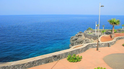 Callao Salvaje viewpoint. Tenerife island. Canary islands.