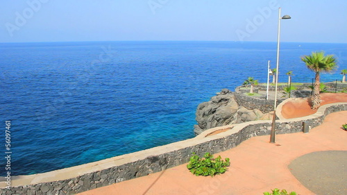 Callao Salvaje viewpoint. Tenerife island. Canary islands.