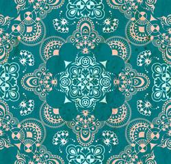 Blue-green lase pattern