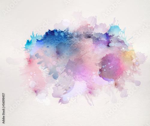 aquarell-flecken