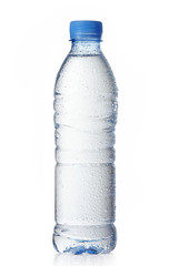 wet water bottle