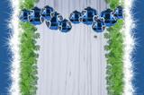 Weihnachtsdeko Trendfarbe Eisblau