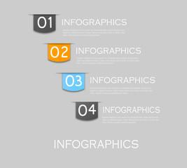 Infographics background