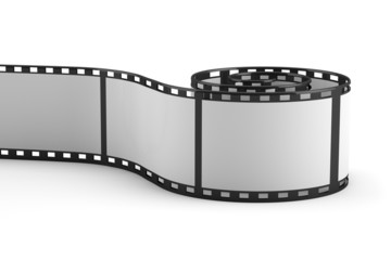 3D rolled out film strip