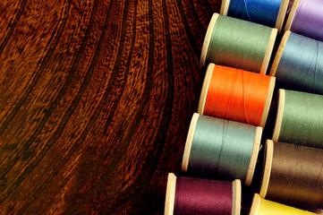 カラフル糸巻き