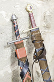 Ancient medieval swords