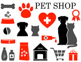 set of pet icons