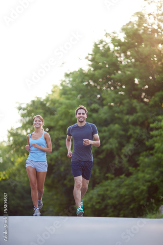 Running together
