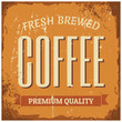 Coffee Metal Sign