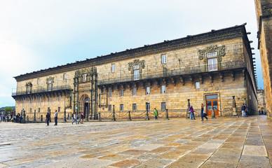 Hostal de los Reyes Católicos, Santiago de Compostela, España