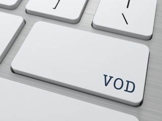 VOD. Information Technology Concept.