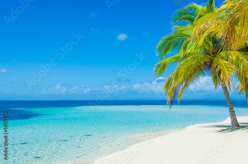 canvas print picture Traum Insel in der Karibik