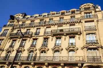 Building in central Paris, France