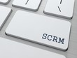 SCRM. Information Technology Concept.