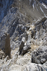 Klettersteig - Tofana di Dentro - Dolomiten - Alpen