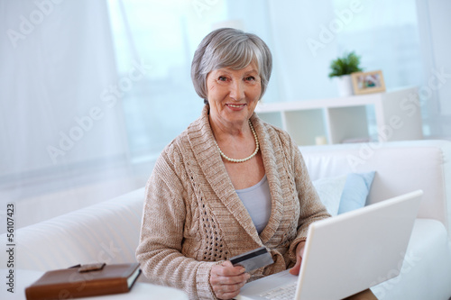 Aged woman