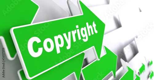 Copyright. Business Background.