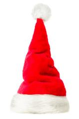 freigestellte Weihnachtsmütze