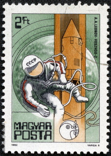 Leonov (first space-walker) and Voskhod 2