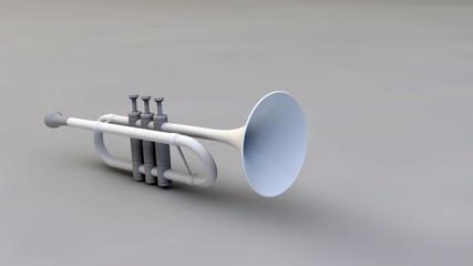 3D Trompet - trumpet