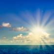 Leinwandbild Motiv Ocean and Sky