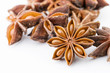 Star anise close up