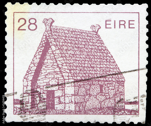 Post stamp from Ireland