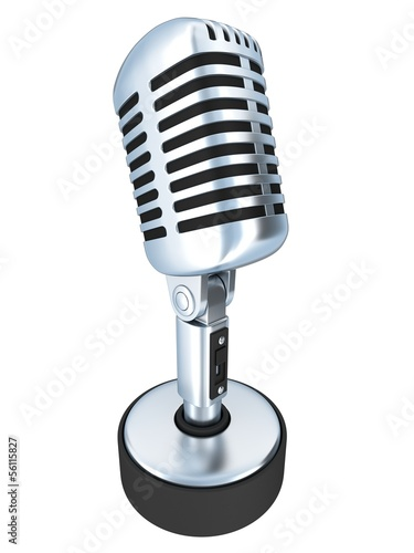 Table Microphone isolated