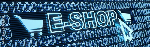 E-shop and binary code