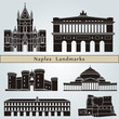 Naples landmarks and monuments