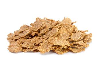 Pile of bran flakes