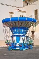Children Carousel. Rodi Garganico. Puglia. Italy.