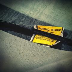 car parking ticket