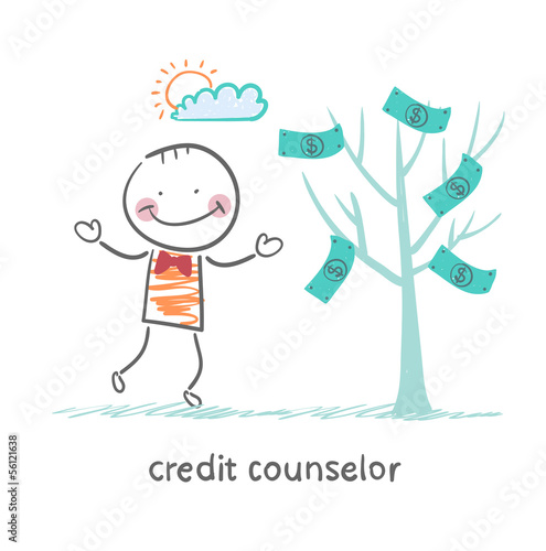 credit counselor near the money tree