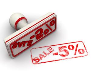 Распродажа -5%. Печать