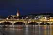 Mittlere Brücke and the Cathedral, Basel, Switzerland