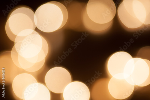 Bokeh circles background