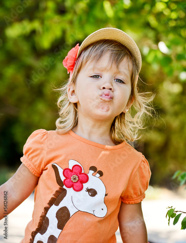 cute toddler girl