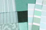 tapestry and upholstery  mint color selection