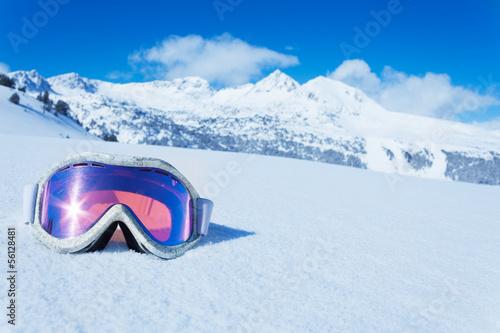 Aluminium Bergen Ski mask