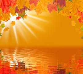 Herbstzauber am See