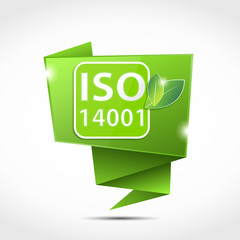 bulle origami : iso 14001 environnement